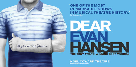 DEAR EVAN HANSEN Musical London