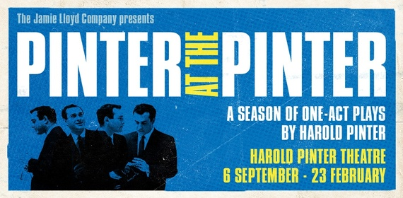 PINTER AT THE PINTER-PARTY TIME/CELEBRATION Play London