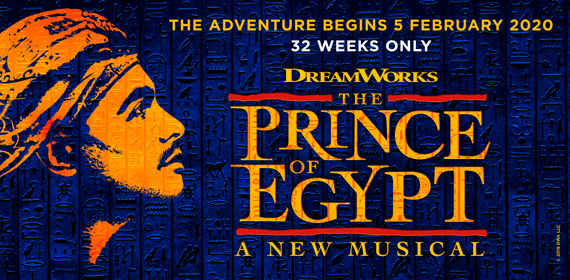 THE PRINCE OF EGYPT Musical London