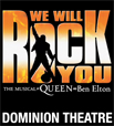 WE WILL ROCK YOU Musical London