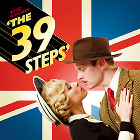 THE THIRTY NINE STEPS Comedy London