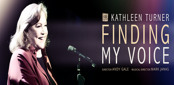 KATHLEEN TURNER: FINDING MY VOICE Musical London