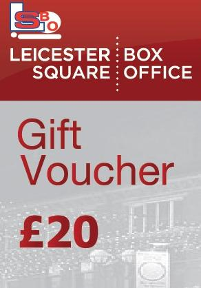 £20 LEICESTER SQUARE GIFT VOUCHER